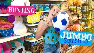 Hunting for Jumbo Squishies at Learning Express | Emmy Buchanan