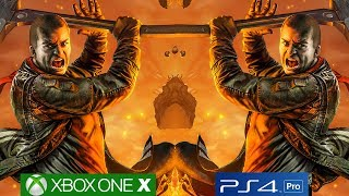 [4K/60fps] Red Faction: Guerrilla Remastered - PS4 PRO vs Xbox One X Graphics Comparison