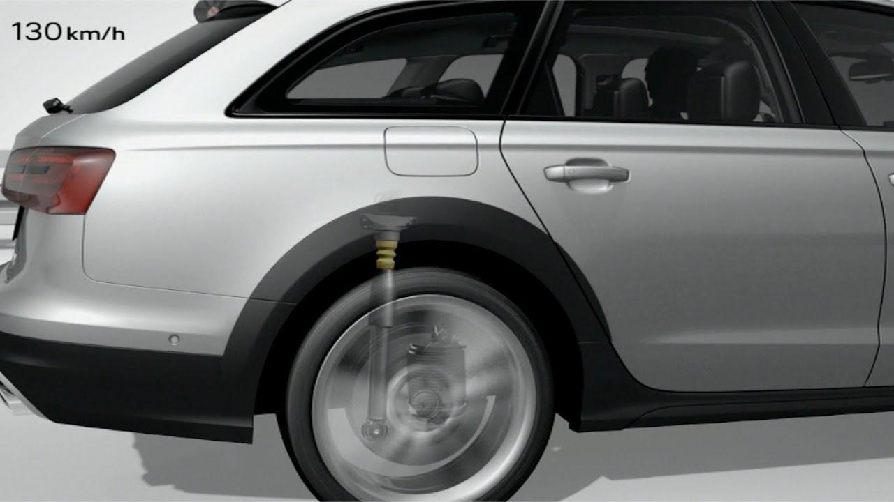 2013 Audi A6 Allroad quattro Adaptive Air Suspension