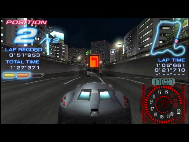 Ridge Racer PSP - Midtown Expressway (with Crinalle)