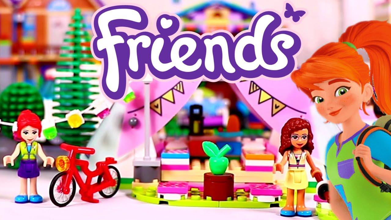 GLAMPING NELLA NATURA LEGO FRIENDS X15477 GIODICART LEGO FRIENDS