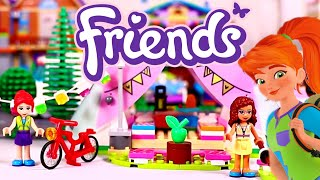 Lego Friends Nature Glamping Building Review 41392 Kids Fun Toys