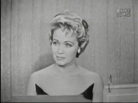 What's My Line? - Clifton Fadiman host; Jane Powell; Martin Gabel/Dana Wynter [panel] (Apr 20, 1958)