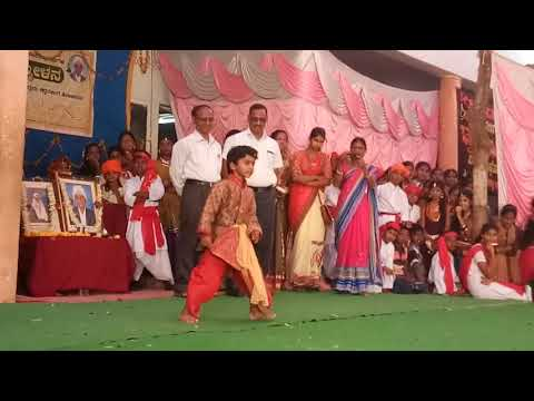 Govardhan invitee in shastriji school annual day Gadag