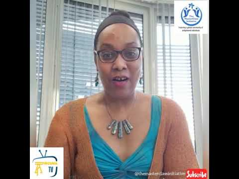 Our Facilitator Dr Leila Kasaro Marketing Intelligence Strategist GEA live on Africunia TV Channel