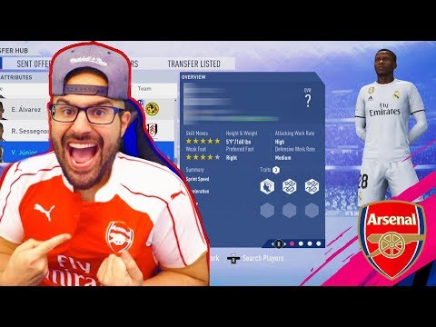 OMG WE PAID HIS RELEASE CLAUSE WE GOT A STAR!!FIFA 19 CAREER MODE ARSENAL #05 thumbnail