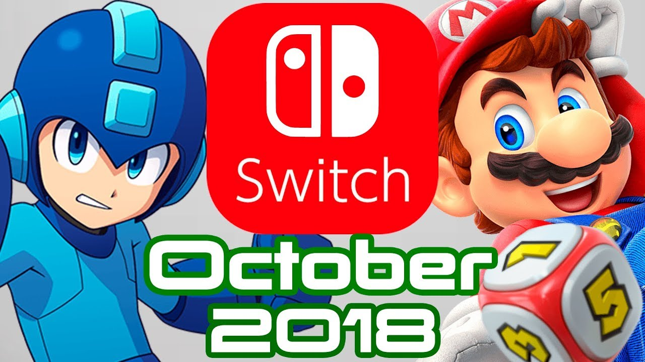 10 Nintendo Switch Games Coming October 2018 Youtube