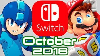 10 Nintendo Switch Games Coming October 2018!