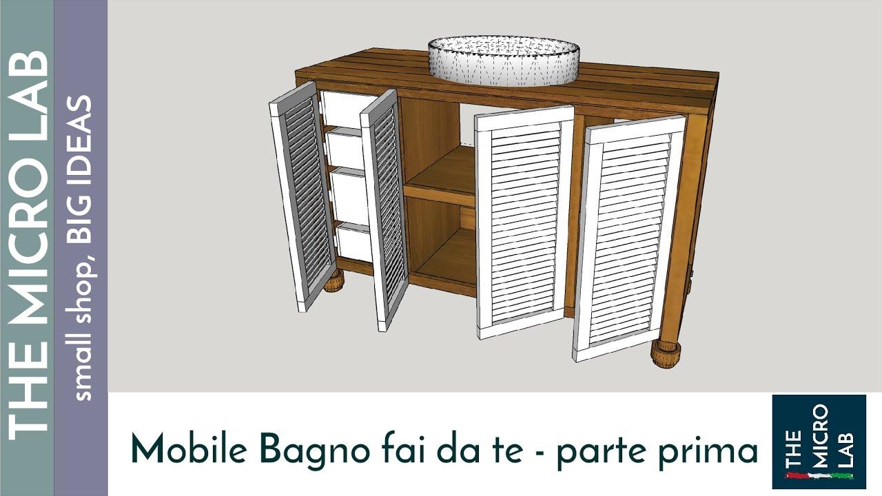 Come costruire un mobile bagno prima parte youtube - Costruire un mobile in legno ...