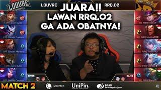 RRQ O2 VS Louvre Final Turnamen Pandawa Lima Match 2 Mobile Legends