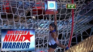 American Ninja Warrior All Star Skills Competition - Supersonic Shelf Grab (Season 8)