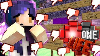 SO MANY NEGATIVE SHOP REVIEWS!! | Ep. 17 | One Life Minecraft SMP