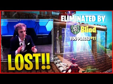 NINJA LOST $50.000 FIRST MATCH AT ESPORTS TOURNAMENTS - (Fortnite Battle Royale)