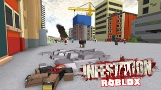 DESTROY THE HUMAN RACE IN ROBLOX!!! - INFESTATION INC