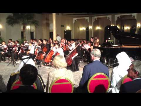 Royal Visit to Qatar Music Academy