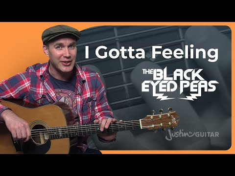How To Play I Gotta Feeling by The Black Eyed Peas (Guitar Lesson SB-202)
