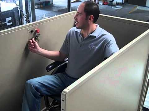 Elevador para sillas de ruedas Para casa y oficinas  YouTube