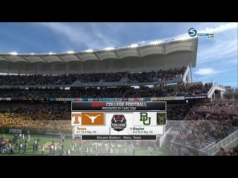 Texas vs Baylor 12.05.2015 NCAA Football 2015