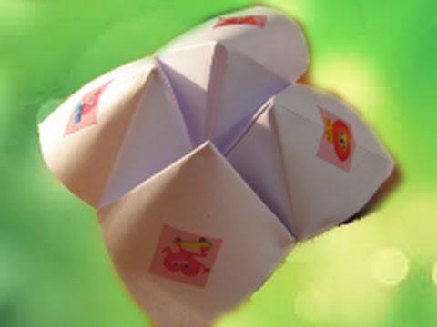 Лёгкие оригами из бумаги гадалка