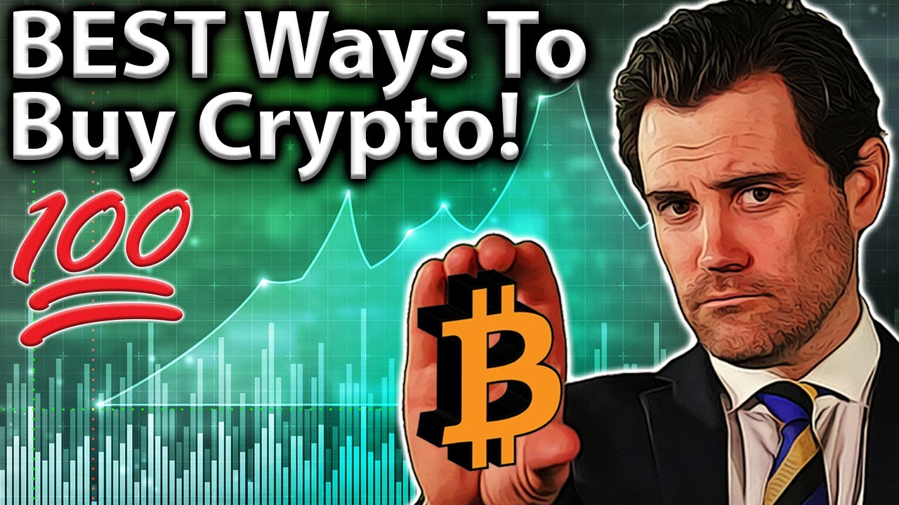 BEST Places to Buy Bitcoin & Crypto: My TOP 5 Ways!! 💯