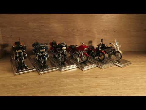 1/18 Maisto Harley Davidson Bikes Обзор Мото-байки от Харлей.