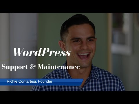 Simple WordPress Support and Maintenance