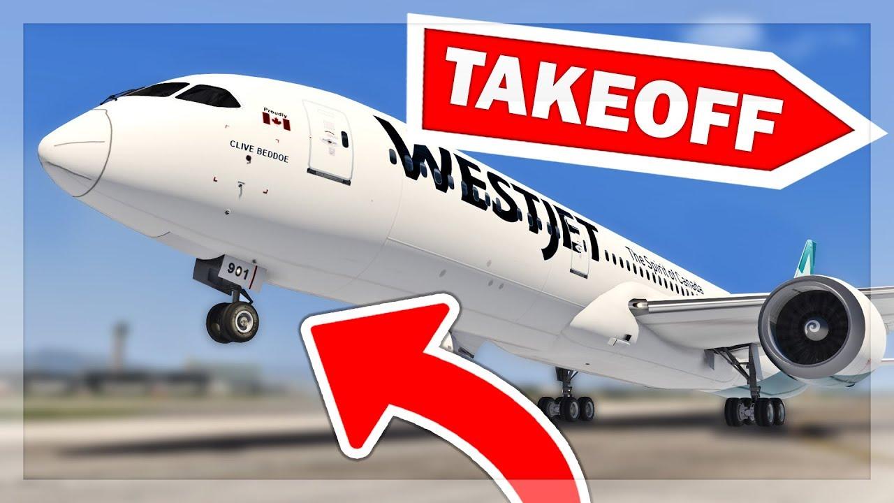 [XP11] Magknight 787 Take-Off Configuration