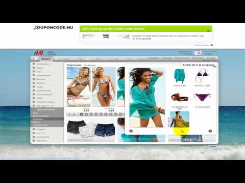 Kortingscode Videohandleiding H&M
