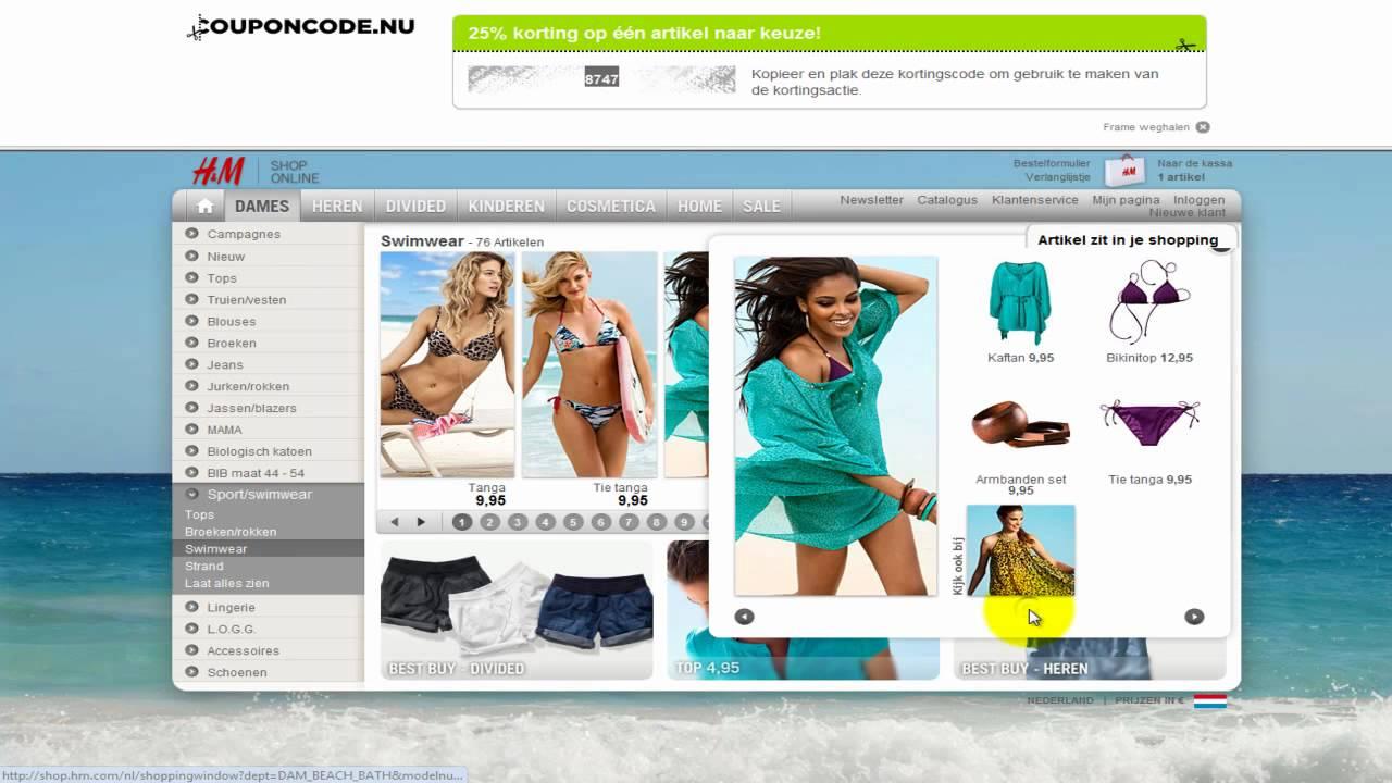 Download Kortingscode Videohandleiding H&M