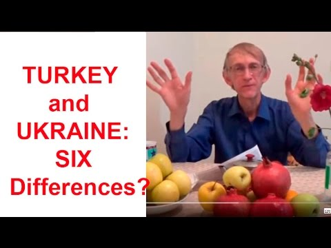 TURKEY & UKRAINE,   ANKARA & KIEV: Six Big Differences & Similarities? (in  ENGLISH)