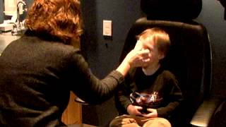 Child's Eye Exam at 3 years of age- Checking Visual Acuity