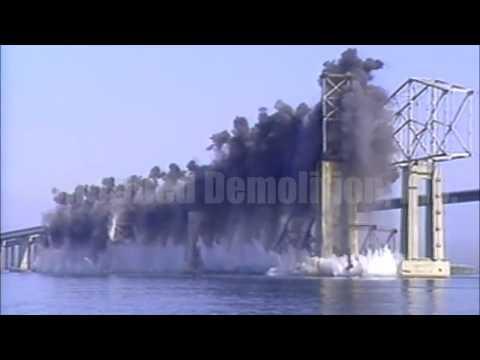 Bridge Demolition Compilation (Possibly Satisfying)