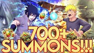 7⭐ STAR SASUKE SUMMONS! 4TH ANNIVERSARY SUMMON! 1% RATES!! | Naruto Ultimate Ninja Blazing