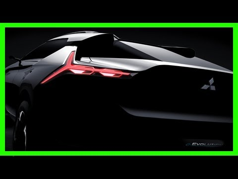 Breaking News | Mitsubishi e-evolution concept for tokyo is a new kind of evo