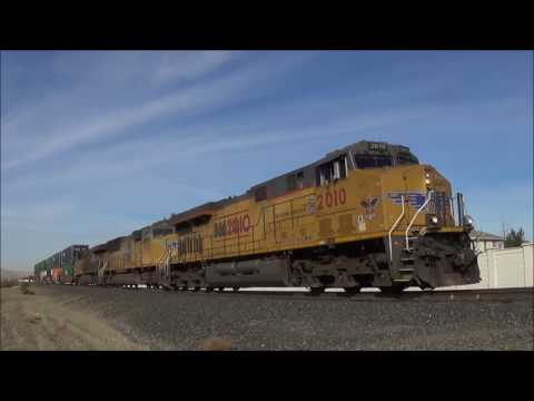 [HD] Central Valley and Bay Area Railfanning featuring UP 2010 (10/13-10/23/16)