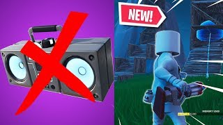 BOOMBOX VAULTED, NEW BOTTLE ROCKETS AND MORE! (NEW FORTNITE V7.30 CONTENT UPDATE!)