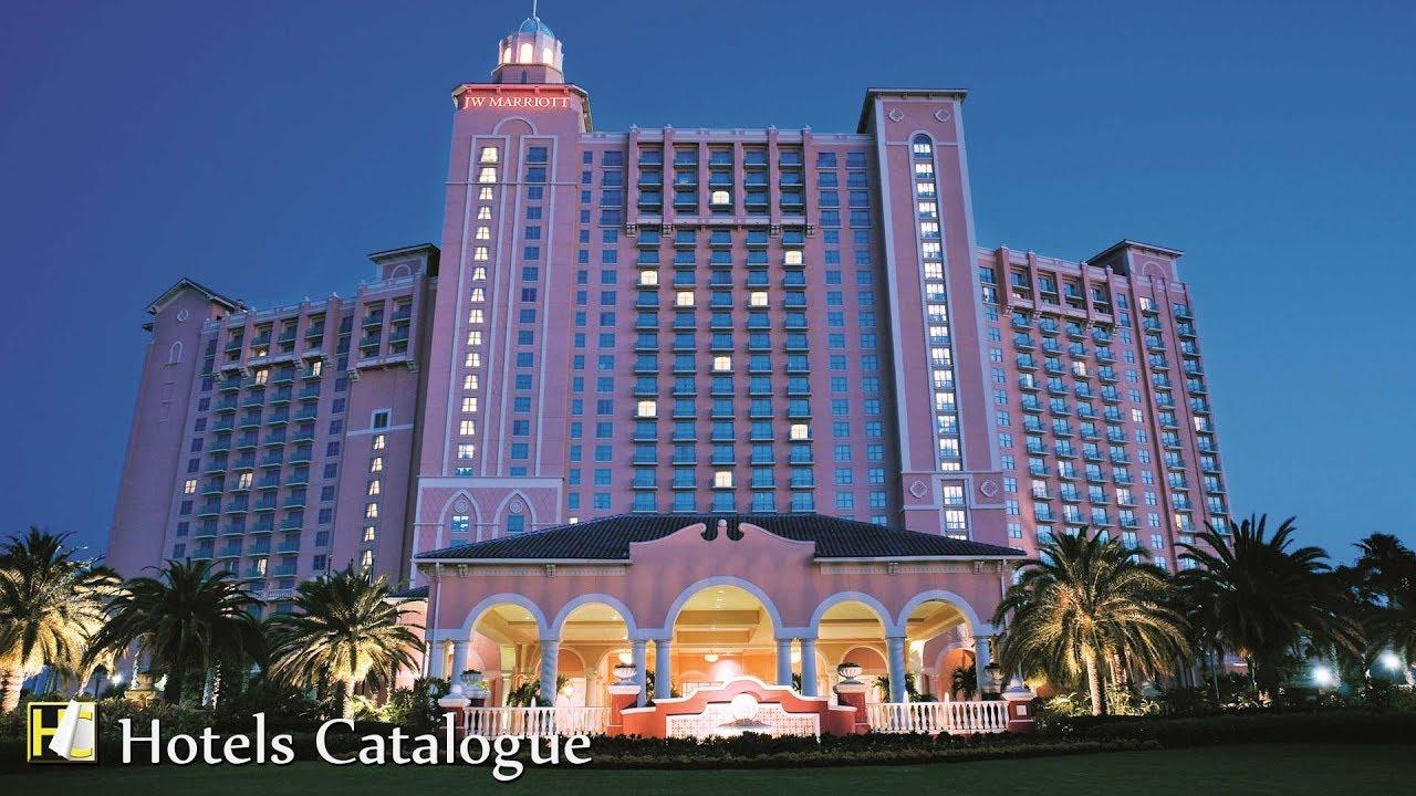 Jw Marriott Orlando Grande Lakes Hotel Tour Luxury At Florida