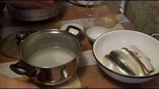 Домашние видео рецепты - пелядь холодного копчения в мультиварке