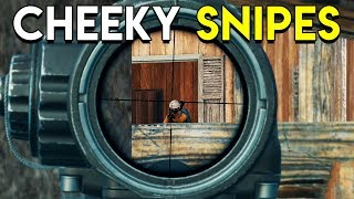 CHEEKY SNIPES - PUBG (PlayerUnknown's Battlegrounds)