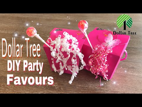 Dollar Tree DIY Party Favours