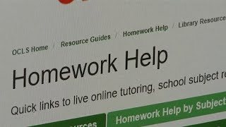 Library offers free homework help