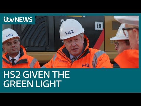 Boris Johnson gives HS2 the green light | ITV News