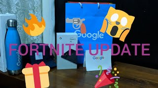 FORTNITE DLC UPDATE + GOOGLE PIXEL 2 XL GIVEAWAY 😱🎁