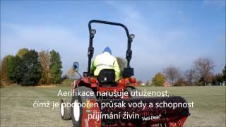 RENOSPORT profi s.r.o. a vertikutace, dosev, pískování a aerifikace živé sportovní trávy