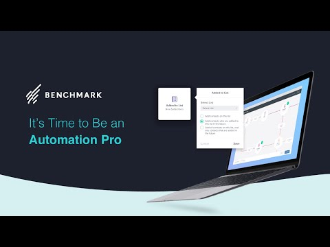 Automation Pro Presentation by Benchmark Email