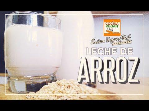 Leche de arroz - Cocina Vegan Fácil