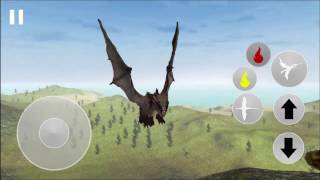 Flying Fury Dragon Simulator iOS / Android Gameplay