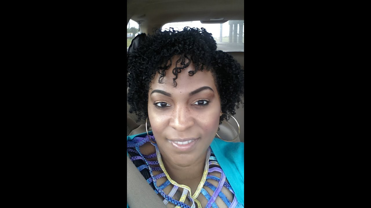 Natural Hair Wash And Go Using Paul Mitchell