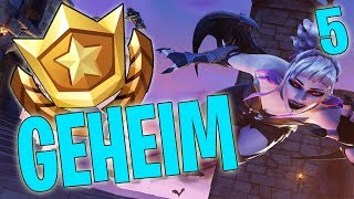 GEHEIMER BATTLE PASS STERN WEEK 5 SEASON 6 X LEVEL UP - FORTNITE BATTLE ROYALE ANGLAIS