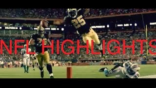 nfl highlights and biggest hits hd